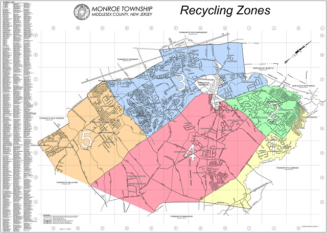 Curbside Recycling Schedule